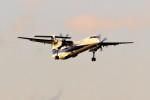yoshibouさんが、成田国際空港で撮影したANAウイングス DHC-8-402Q Dash 8の航空フォト(写真)