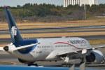 とりてつさんが、成田国際空港で撮影したアエロメヒコ航空 787-8 Dreamlinerの航空フォト(写真)