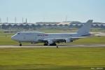やまちゃんKさんが、嘉手納飛行場で撮影したカリッタ エア 747-4B5(BCF)の航空フォト(写真)