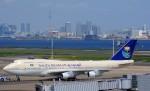 KAZKAZさんが、羽田空港で撮影したサウジアラビア王国政府 747-3G1の航空フォト(写真)