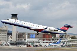 Astechnoさんが、伊丹空港で撮影したアイベックスエアラインズ CL-600-2C10 Regional Jet CRJ-702の航空フォト(写真)