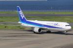 テクノジャンボさんが、羽田空港で撮影した全日空 767-381/ERの航空フォト(写真)