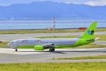 kix-boobyさんが、関西国際空港で撮影したジンエアー 737-86Nの航空フォト(写真)