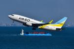 パンダさんが、羽田空港で撮影したAIR DO 737-781の航空フォト(写真)