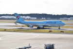 隼風さんが、成田国際空港で撮影した大韓航空 747-4B5の航空フォト(写真)