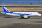 テクノジャンボさんが、羽田空港で撮影した全日空 A320-211の航空フォト(写真)