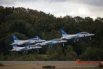 徳兵衛さんが、岐阜基地で撮影した航空自衛隊 T-4の航空フォト(写真)