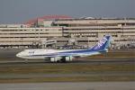 yoshi_350さんが、羽田空港で撮影した全日空 747-481(D)の航空フォト(写真)