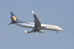 Kilo Indiaさんが、チャトラパティー・シヴァージー国際空港で撮影したジェットエアウェイズ 737-8KNの航空フォト(写真)