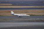 神宮寺ももさんが、羽田空港で撮影した朝日新聞社 560 Citation Encoreの航空フォト(写真)