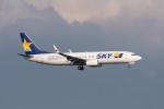 ポン太さんが、羽田空港で撮影したスカイマーク 737-8HXの航空フォト(写真)