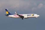 ポン太さんが、羽田空港で撮影したスカイマーク 737-86Nの航空フォト(写真)