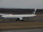 さゆりんごさんが、新千歳空港で撮影したキャセイパシフィック航空 777-367の航空フォト(写真)