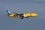 ポン太さんが、羽田空港で撮影した全日空 777-281/ERの航空フォト(写真)