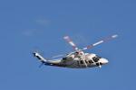 蒼い鳩さんが、小瀬スポーツ公園で撮影した山梨県防災航空隊 S-76Bの航空フォト(写真)