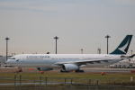 msrwさんが、成田国際空港で撮影したキャセイパシフィック航空 A330-342の航空フォト(写真)