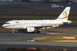 Tomo-Papaさんが、羽田空港で撮影したリライアンス・インダストリーズ A319-115CJの航空フォト(写真)