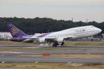 mototripさんが、成田国際空港で撮影したタイ国際航空 747-4D7の航空フォト(写真)