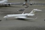 よしポンさんが、羽田空港で撮影したインド個人所有 BD-700 Global Express/5000/6000の航空フォト(写真)