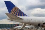 安芸あすかさんが、フランクフルト国際空港で撮影したユナイテッド航空 747-422の航空フォト(写真)