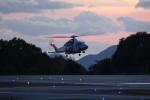 梅こぶ茶さんが、広島空港で撮影した広島県防災航空隊 AW139の航空フォト(写真)