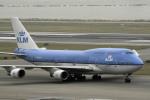 planetさんが、香港国際空港で撮影したKLMオランダ航空 747-406Mの航空フォト(写真)