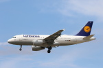 安芸あすかさんが、フランクフルト国際空港で撮影したルフトハンザドイツ航空 A319-112の航空フォト(写真)