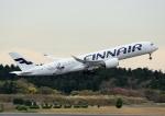 じーく。さんが、成田国際空港で撮影したフィンエアー A350-941XWBの航空フォト(写真)