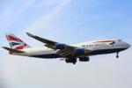 安芸あすかさんが、ロンドン・ヒースロー空港で撮影したブリティッシュ・エアウェイズ 747-436の航空フォト(写真)
