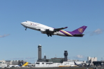 mogusaenさんが、成田国際空港で撮影したタイ国際航空 747-4D7の航空フォト(写真)