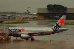 KAZKAZさんが、シンガポール・チャンギ国際空港で撮影したジェットスター・アジア A320-232の航空フォト(写真)
