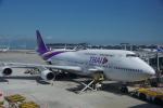 JA8037さんが、香港国際空港で撮影したタイ国際航空 747-4D7の航空フォト(写真)
