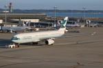 SIさんが、中部国際空港で撮影したキャセイパシフィック航空 A330-343Xの航空フォト(写真)