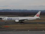 さゆりんごさんが、新千歳空港で撮影した日本航空 777-246の航空フォト(写真)