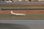 yoshi_350さんが、羽田空港で撮影した朝日新聞社 Cessnaの航空フォト(写真)