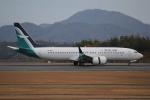 だいまる。さんが、広島空港で撮影したシルクエア 737-8-MAXの航空フォト(写真)
