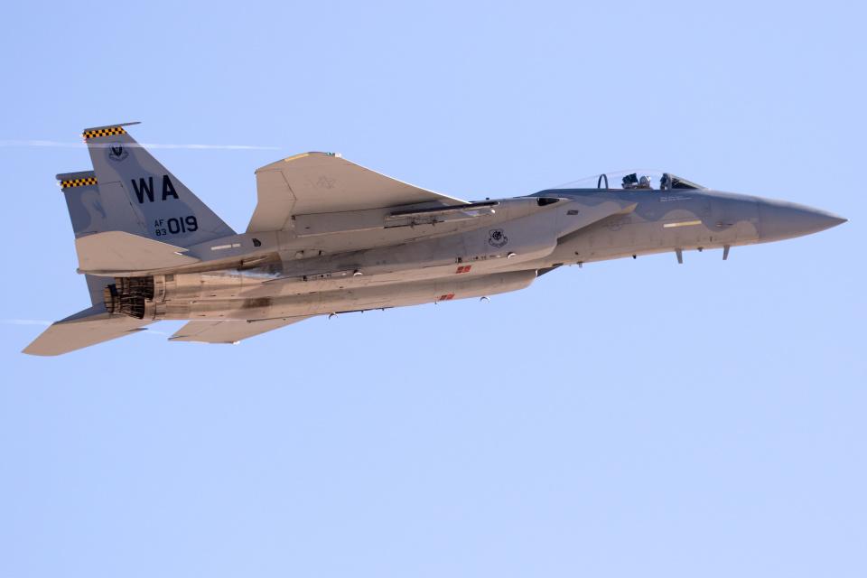 チャッピー・シミズさんのアメリカ空軍 McDonnell Douglas F-15 A/B/C/D/E (WA AF83-019) 航空フォト