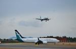 ヒロジーさんが、広島空港で撮影したシルクエア 737-8-MAXの航空フォト(写真)
