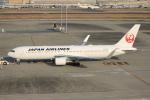 テクノジャンボさんが、羽田空港で撮影した日本航空 767-346/ERの航空フォト(写真)
