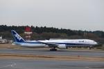鷹輝@SKY TEAMさんが、成田国際空港で撮影した全日空 777-381/ERの航空フォト(写真)