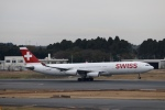 鷹輝@SKY TEAMさんが、成田国際空港で撮影したスイスインターナショナルエアラインズ A340-313Xの航空フォト(写真)