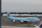 鷹輝@SKY TEAMさんが、成田国際空港で撮影した大韓航空 747-4B5の航空フォト(写真)