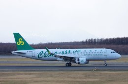 kitayocchiさんが、新千歳空港で撮影した春秋航空 A320-214の航空フォト(飛行機 写真・画像)