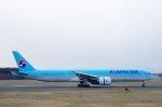 kitayocchiさんが、新千歳空港で撮影した大韓航空 777-3B5/ERの航空フォト(写真)