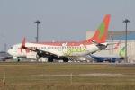 mototripさんが、成田国際空港で撮影したティーウェイ航空 737-8Q8の航空フォト(写真)