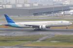 キイロイトリ1005fさんが、羽田空港で撮影したガルーダ・インドネシア航空 777-3U3/ERの航空フォト(写真)