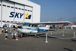 T.Sazenさんが、神戸空港で撮影した日本個人所有 172N Skyhawk IIの航空フォト(飛行機 写真・画像)