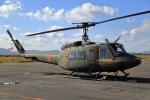 しののめさんが、岡南飛行場で撮影した陸上自衛隊 UH-1Jの航空フォト(写真)
