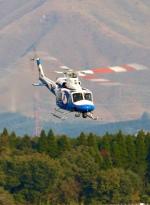 ザキヤマさんが、熊本空港で撮影した宮崎県防災救急航空隊 412EPの航空フォト(写真)