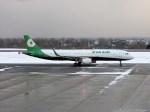 よんすけさんが、函館空港で撮影したエバー航空 A321-211の航空フォト(写真)